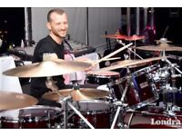 Professional Drummer Available London UK