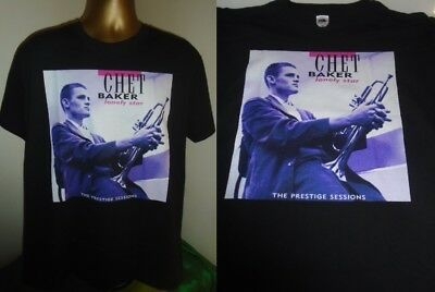 New Chet Baker Big Band Album Men/'s Black T-Shirt Size S to 3XL *100/% cotton