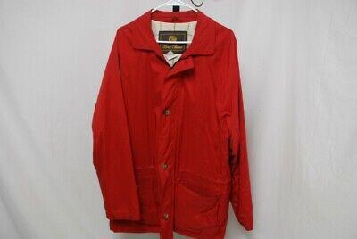 LORO PIANA men's 1992 Olympics jacket red nylon sz XL