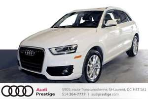 2015 Audi Q3 TECHNIK  ONLY 23660 KM / ELECTRIC TAILGATE / PANOR
