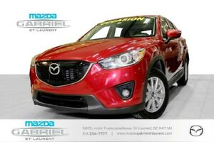 2014 Mazda CX-5 GS AWD + TOIT +  JAMAIS ACCIDENTE + DEMARREUR A