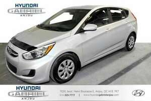 2017 Hyundai Accent GL 5-Door  BLUETOOTH, SIEGES CHAUFFANTS, ACT
