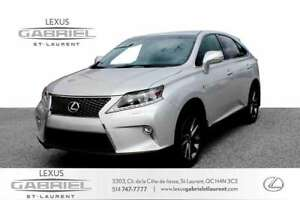 2015 Lexus RX *F-SPORT AWD* ~~HEAD‐UP DISPLAY + 15 SPEAKER