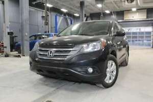 2013 Honda CR-V EX-L 4WD + CUIR + JAMAIS ACCIDENTE + BLUETOOTH