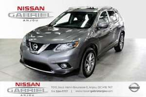 2014 Nissan Rogue SL AWD LEATHER+GPS ( 4 WINTER TIRES INCLUDED )