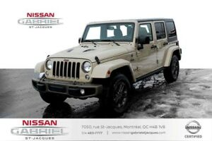 2016 Jeep Wrangler 75th Edition NAVI SEULEMENT 48 600KM!!, 75th