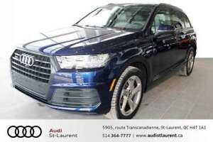 2019 Audi Q7 3.0L TECHNIK S-LINE/ LUXURY PKG/ BLK OPTIC PKG