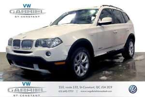 2010 BMW X3 xDrive30i CUIR, TOIT OUVRANT PANO, GROUPE ELECTRIQ