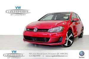 2015 Volkswagen GTI Autobahn 3-Door FINANCEMENT 0.9% DISPONIBLE,