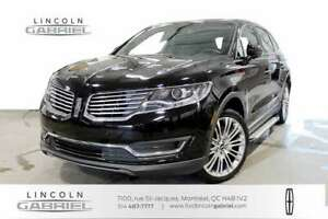 2018 Lincoln MKX Reserve AWD RESERVE, ONE OWNER, NEVER ACCIDENTE
