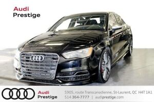 2015 Audi S3 TECHNIK 31705KM LED PACKAGE/ MAGNETIC RIDE/ RED CA