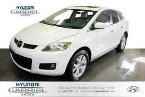 2007 Mazda CX-7 GT SIEGES CHAUFFANTS, CUIR, TOIT OUVRANT, MAGS,