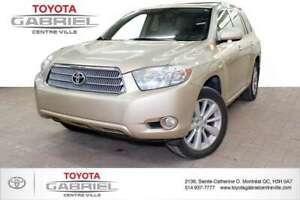2008 Toyota Highlander Hybrid Limited 4WD jamais ét&eacut