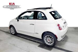 2015 Fiat 500 Lounge Hatchback
