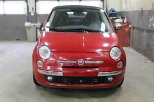2014 Fiat 500 LOUNGE+DECAPORTAB E+MAGS INTERIEUR ROUGE