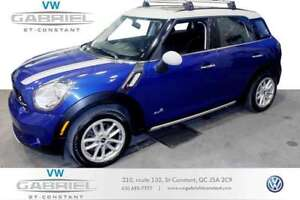 2015 MINI Cooper Countryman S ALL4 JAMAIS ACCIDENTÉ, UN S