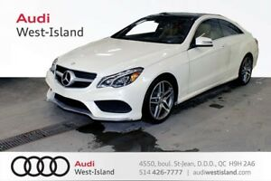 2014 Mercedes-Benz E-Class E350 Coupe 4MATIC * NAVIGATION * BACK