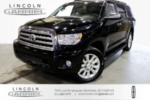 2014 Toyota Sequoia PLATINUM 4WD, 7 SEATER, BLUETOOTH,CRUSIE CON