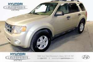 2010 Ford Escape XLT FWD MANUELLE 5 VITESSE, CUIR, MAGS
