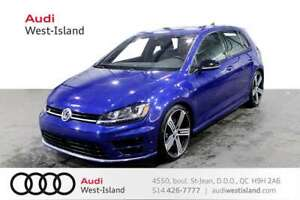 2017 Volkswagen Golf R 6M ADAPTIVE CRU * NAVIGATION * BACK UP CA
