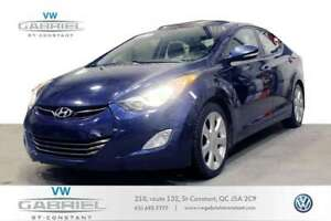 2012 Hyundai Elantra LIMITED CUIR, TOIT OUVRANT, GROUPE ELECTRIQ