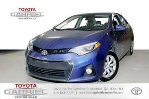 2015 Toyota Corolla S  CVT jamais été accident&eac