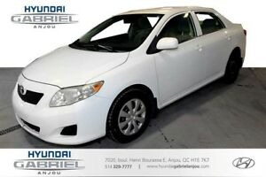 2010 Toyota Corolla Base 4-Speed AT A/C, ECONOMIQUE,