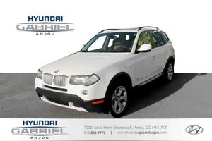 2010 BMW X3 xDrive30i ATTACHE-REMORQUE, CUIR, MAGS, TOIT OUVRA
