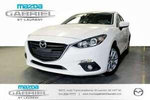 2015 Mazda Mazda3 GS  SPORT + TOIT  GPS NAV + CAMERA DE RECUL