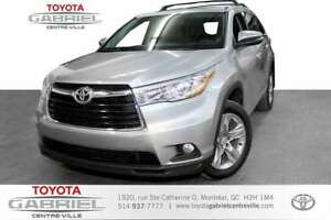 2015 Toyota Highlander Limited AWD V6 NAVI+CUIR+TOIT PANORAMIC