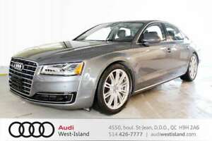 2015 Audi A8 4.0T LUXURY PACK  DRIVE ASSIST//MAGS 20 PO