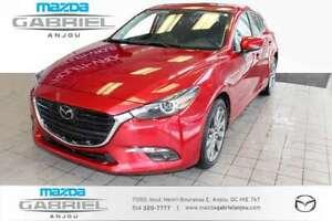 2018 Mazda Mazda3 GT+GPS+CUIR+CAM 1 PROPRIO ET JAMAIS ACCIDENT&E