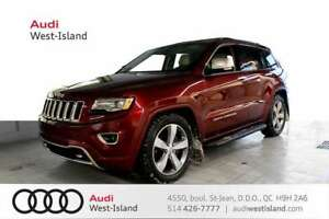 2016 Jeep Grand Cherokee Overland 4WD * NAV * BACK UP CAM *