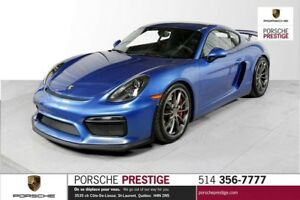 2016 Porsche Cayman GT4 Pre-owned vehicle 2016 Porsche Cayman GT