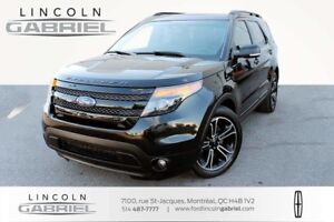 2015 Ford Explorer SPORT+7 PASSAGERS+4WD+NAVI+PANORAMIC ROOF+CAM