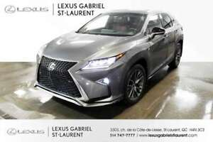 2016 Lexus RX *F-SPORT-2*      Vehicle Dynamics Integrated