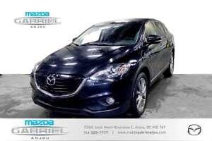 2015 Mazda CX-9 GT+GPS+CUIR+AWD VÉHICULE TRÈS PROP