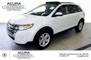 2014 Ford Edge SEL AWD CUIR+TOIT PANORAMIC+NAVI+BLUETOOTH+CAMERA