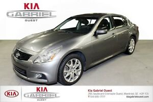 2013 Infiniti G37X Xs AWD 4 Winter Tires with Mags (Included)