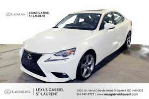 2015 Lexus IS 350 AWD NAVIGATION + TOIT OUVRANT + CAMERA DE RECU