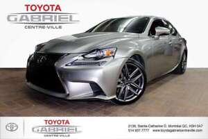 2015 Lexus IS 350 AWD F-sport F SPORT ---- NAVIGATION --- CUIR -