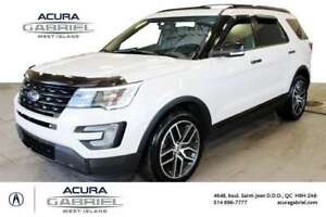 2017 Ford Explorer Sport 4WD ECOBOOS CUIR+TOIT PANORAMIC+NAVI+BL
