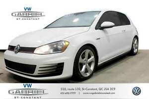 2016 Volkswagen GTI CLIM A DOUBLE ZONE, CAM RECUL, BLUETOOTH, VO