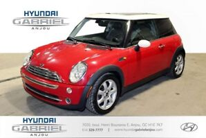 2006 MINI Cooper Base BLUETOOTH, SIEGES CHAUFFANTS, PHARES ANTIB