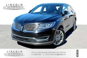 2016 Lincoln MKX RESERVE OUTSTANDING RESERVE MODEL, FULLY LOADED