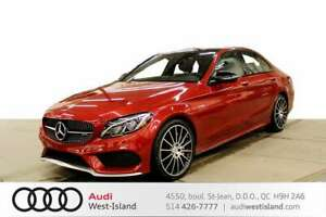 2017 Mercedes Benz C-Class C43 4M AMG * BACK UP *