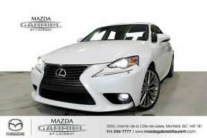 2015 Lexus IS 250 AWD+ TOIT + JAMAIS ACCIDENTE + CAMERA DE RECUL