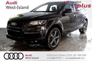 2014 Audi Q7 3.0T PROGRESSIV  S-LINE // ATTACHE REMORQUE
