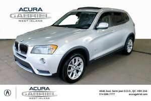 2013 BMW X3 xDrive28i CUIR+TOIT PANORAMIC+BLUETOOTH+++