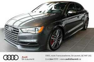 2015 Audi S3 MAGNETIC RIDE RED CALIPERS/ NAVIGATION